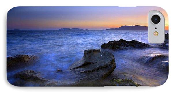 San Juan Sunset Phone Case by Mike  Dawson