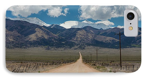 San Luis Valley Back Road Cruising IPhone Case by James BO Insogna