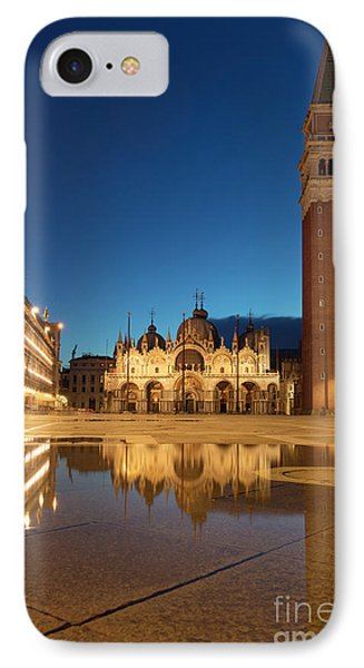 IPhone Case featuring the photograph San Marco Twilight by Brian Jannsen