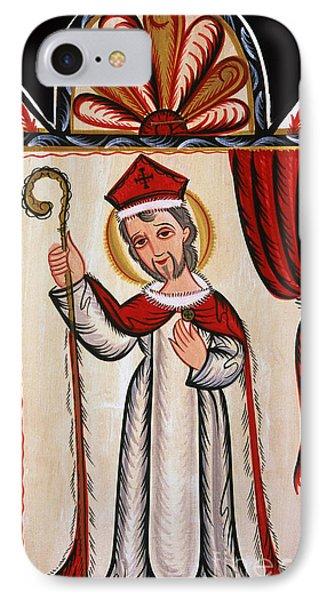San Nicolas - St. Nicholas - Aosni IPhone Case by Br Arturo Olivas OFS