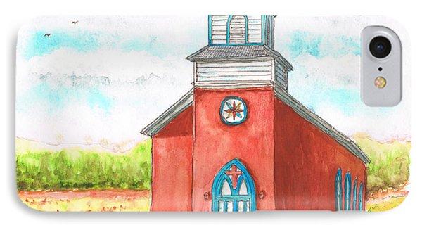 San Rafael Church In La Cueva, New Mexico IPhone Case by Carlos G Groppa