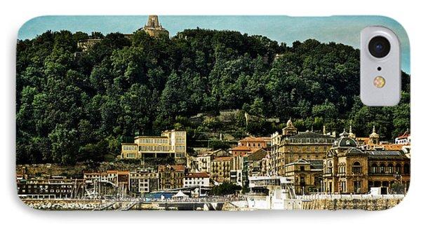 San Sebastian Spain IPhone Case by Mary Machare