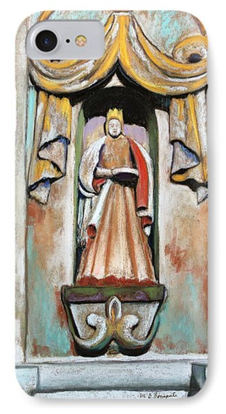 San Xavier Statue IPhone Case by M Diane Bonaparte