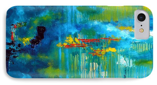 Sanctuary Abstract Painting IPhone Case