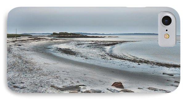 Sand Along The Shoreline IPhone Case by Richard Bean