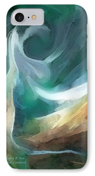 Sand And Sea Phone Case by Carol Cavalaris