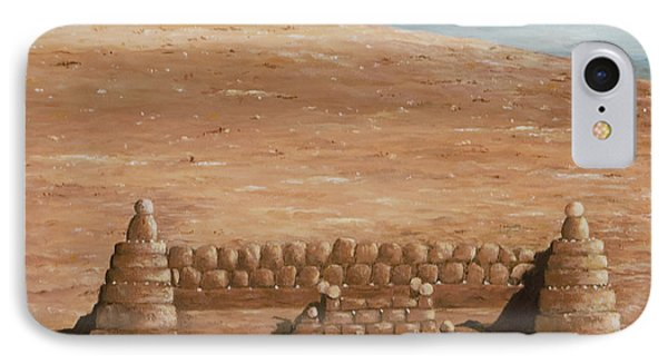 Sand Castle At Lake Powell IPhone Case
