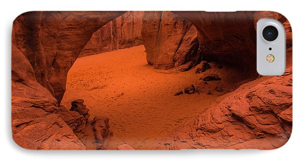 IPhone Case featuring the photograph Sand Dune Arch - Arches National Park - Utah by Gary Whitton