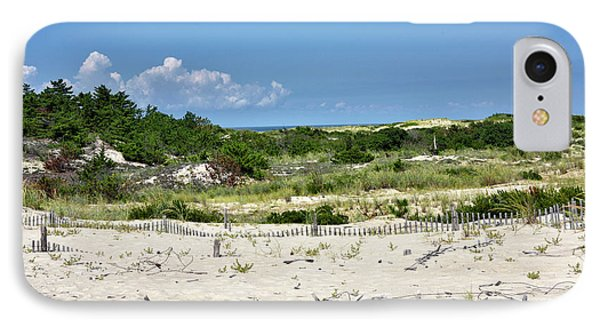 Sand Dune In Cape Henlopen State Park - Delaware IPhone Case by Brendan Reals