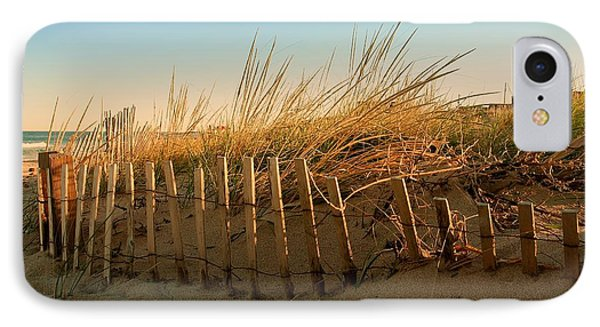 Sand Dune In Late September - Jersey Shore IPhone Case by Angie Tirado