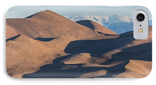 Sand Dunes And Rocky Mountains Panorama IPhone Case by James BO Insogna
