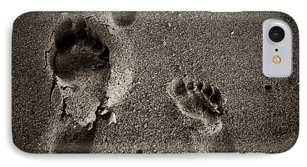 Sand Feet IPhone Case by Lora Lee Chapman