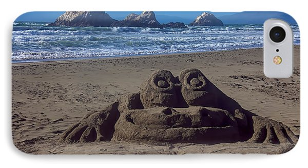 Sand Frog  IPhone Case by Garry Gay