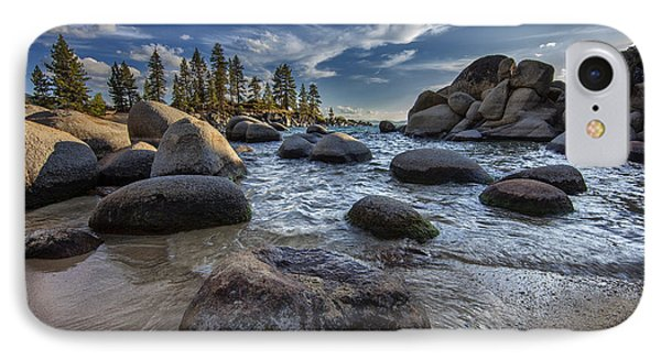 Sand Harbor II IPhone Case by Rick Berk