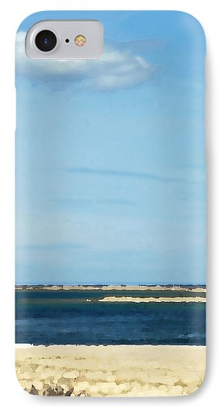 IPhone Case featuring the photograph Sand Sea And Sky by Brooke T Ryan