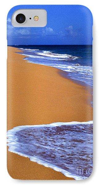 Sand Sea Sky Phone Case by Thomas R Fletcher