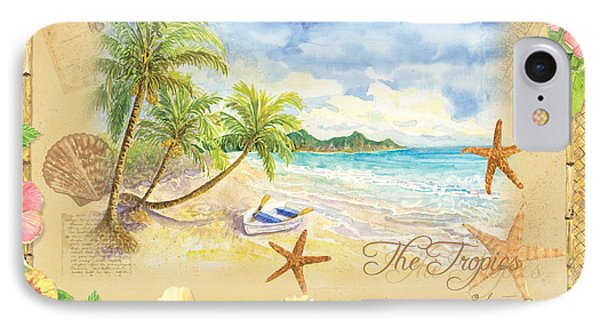 Sand Sea Sunshine On Tropical Beach Shores IPhone Case by Audrey Jeanne Roberts