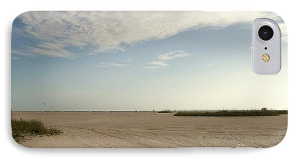 Sand Storm At St. Pete Beach IPhone Case by Gail Kent