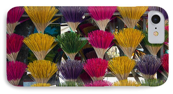 Sandalwood Incense Sticks IPhone Case by Rob Hemphill