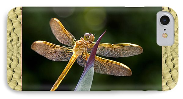 IPhone Case featuring the photograph Sandflow Dragonfly by Bell And Todd