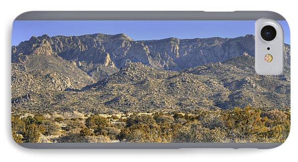 Sandia Mountain Panorama IPhone Case by Alan Toepfer