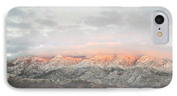 Sandia Mountains Rustic Sunset Landscape IPhone Case by Andrea Hazel Ihlefeld