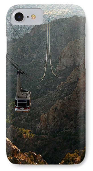 Sandia Peak Cable Car IPhone Case by Joe Kozlowski