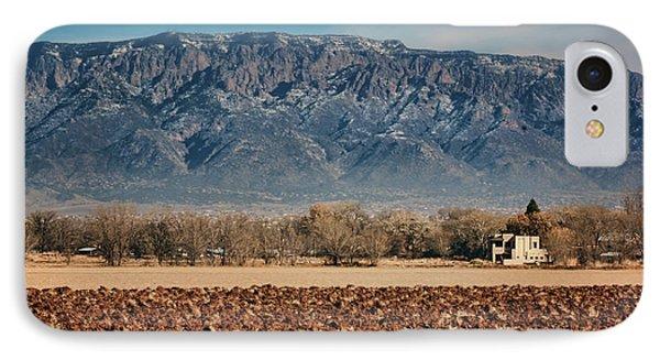 IPhone Case featuring the photograph Sandias - Los Poblanos Fields by Nikolyn McDonald