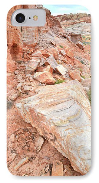 IPhone Case featuring the photograph Sandstone Arrowhead In Valley Of Fire by Ray Mathis