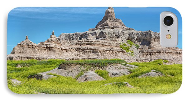 IPhone Case featuring the photograph Sandstone Battlestar by John M Bailey