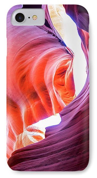 IPhone Case featuring the photograph Sandstone Collection 4 Verticle Shadows by Brad Scott
