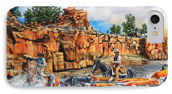 Sandstone Crossing IPhone Case by Ruanna Sion Shadd a'Dann'l