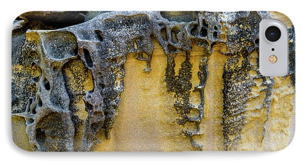 IPhone Case featuring the photograph Sandstone Detail Syd01 by Werner Padarin
