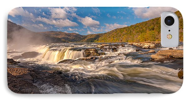 Sandstone Falls New River Gorge IPhone Case