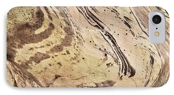 IPhone Case featuring the photograph Sandstone Swirls by Tom Vaughan