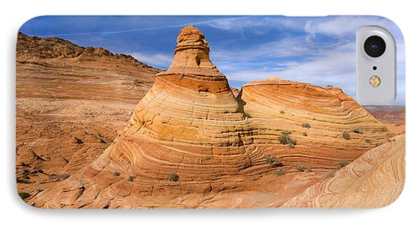 Sandstone Tent Rock IPhone Case by Mike  Dawson