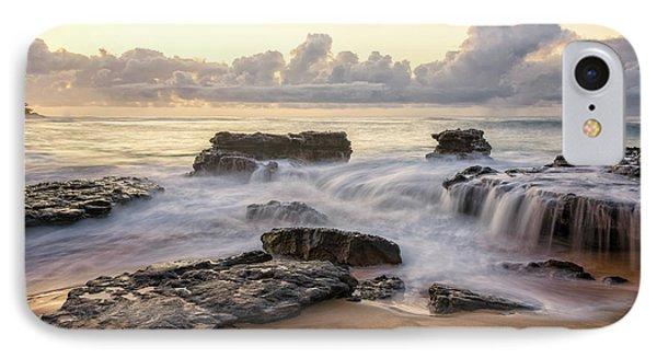 Sandy Beach Sunrise 3 - Oahu Hawaii Phone Case by Brian Harig