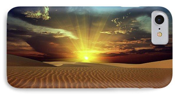 Sandy Desert IPhone Case