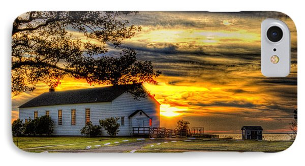 Sandy Hook New Jersey Sunset IPhone Case by Geraldine Scull