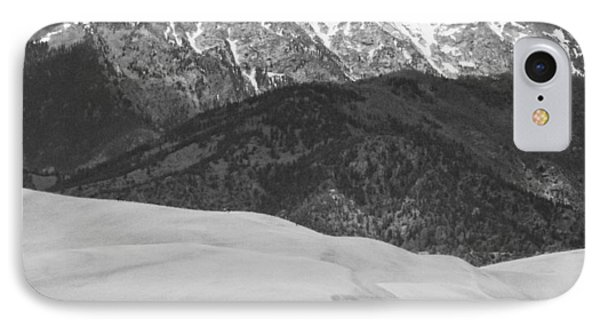 Sangre De Cristo Mountains And The Great Sand Dunes Bw V Phone Case by James BO  Insogna