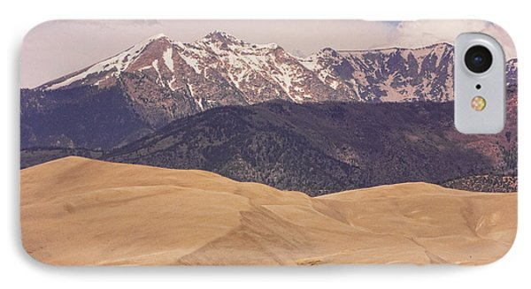 Sangre De Cristo Mountains And The Great Sand Dunes Phone Case by James BO  Insogna