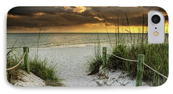 Sanibel Island Beach Access IPhone Case