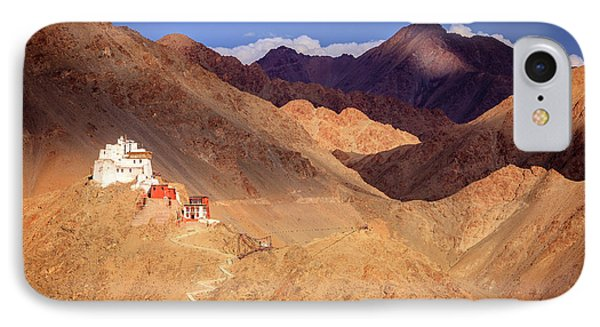IPhone Case featuring the photograph Sankar Monastery by Alexey Stiop