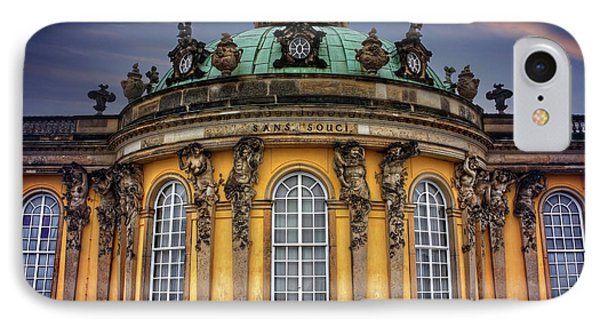 Sanssouci Palace In Potsdam Germany  IPhone Case by Carol Japp