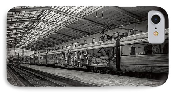 Santa Apolonia Railway Station Lisbon IPhone Case by Carol Japp