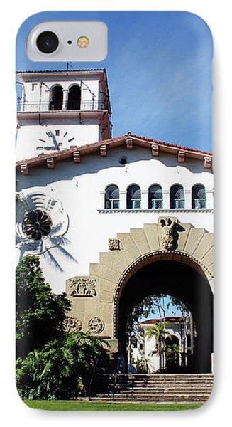 Santa Barbara Courthouse -by Linda Woods IPhone Case