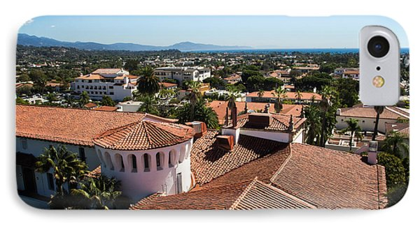 Santa Barbara From Above IPhone Case by Suzanne Luft