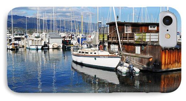IPhone Case featuring the photograph Santa Barbara Harbor by Kyle Hanson