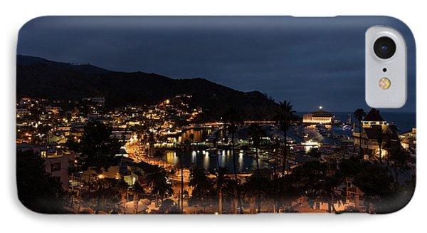 Santa Catalina Island Nightscape Phone Case by Angela A Stanton