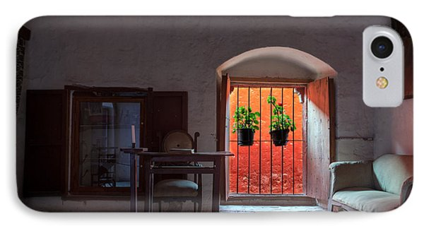 Santa Catalina Monastery Window IPhone Case by Jess Kraft